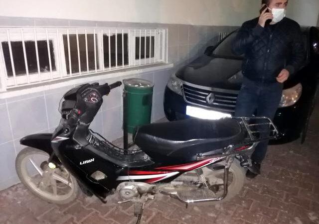 Samsun'un Alaçam ve Yakakent ilçelerinden çalınan motosikletler polisin amasız takibi sonucu Bafra'da yakalandı