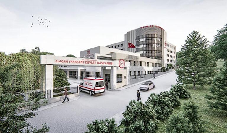 Alaçam Yakakent Devlet Hastanesinin ihalesi 22 Şubat 2021 de