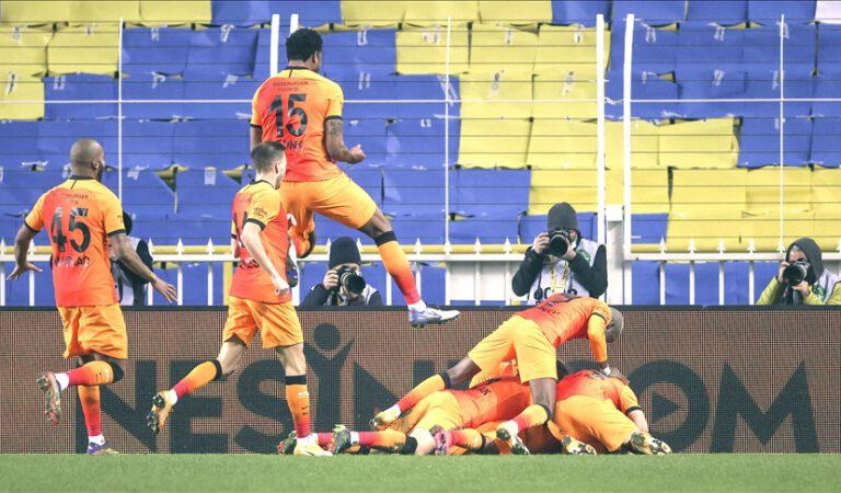 Galatasaray, deplasmanda Fenerbahçe'yi 1-0 yendi
